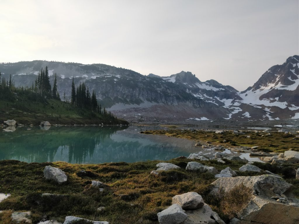 Upper Lyman lakes