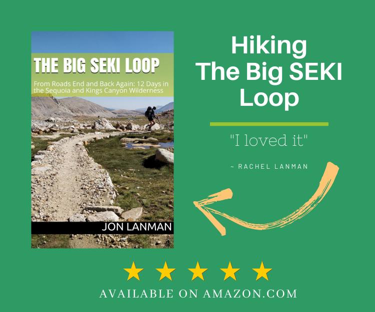 hiking book - The Big SEKI Loop